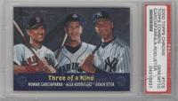 Three of a Kind (Nomar Garciaparra, Alex Rodriguez, Derek Jeter) [PSA 10]