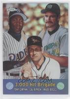 Tony Gwynn, Cal Ripken Jr., Wade Boggs