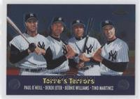 Paul O'Neill, Derek Jeter, Bernie Williams, Tino Martinez