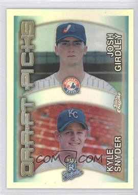 2000 Topps Chrome Refractor #211 - Kyle Snyder, Josh Girdley