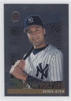 Derek Jeter (Wins 1996 Worlds Series)