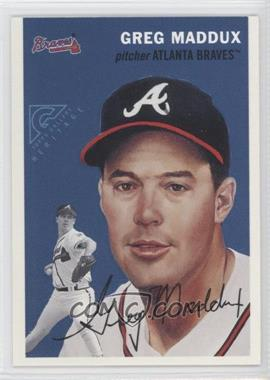 2000 Topps Gallery - Heritage - Proof #TGH3 - Greg Maddux