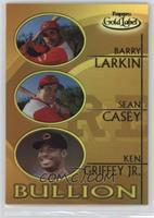 Barry Larkin, Sean Casey, Ken Griffey Jr.
