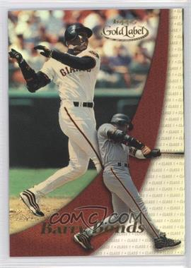 2000 Topps Gold Label [???] Class 1 #85 - Barry Bonds