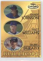 Randy Johnson, Matt Williams, Erubiel Durazo