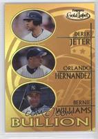 Derek Jeter, Orlando Hernandez, Bernie Williams