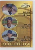 Sammy Sosa, Mark Grace, Kerry Wood