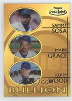 Sammy Sosa, Mark Grace, Kerry Wood