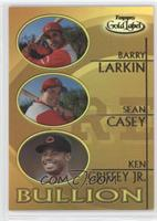 Barry Larkin, Sean Casey, Ken Griffey Jr.