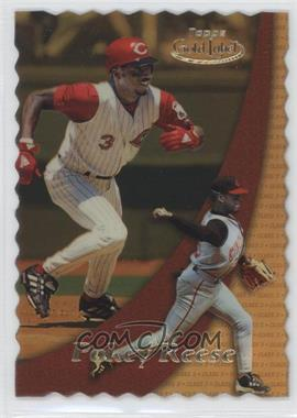 2000 Topps Gold Label Class 1 Gold #41 - Pokey Reese /100