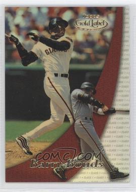 2000 Topps Gold Label Class 1 #85 - Barry Bonds