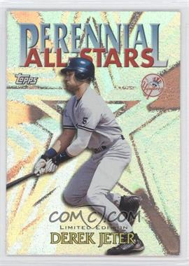 2000 Topps Perennial All-Stars Limited Edition #PA2 - Derek Jeter
