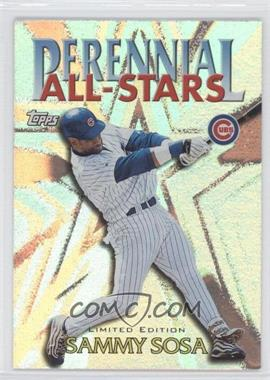2000 Topps Perennial All-Stars Limited Edition #PA3 - Sammy Sosa