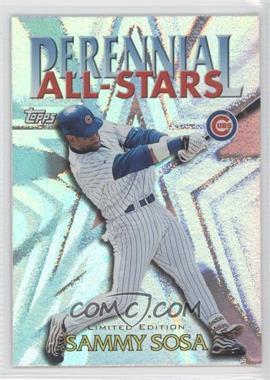 2000 Topps Perennial All-Stars Limited Edition #PA3 - Sammy Sosa