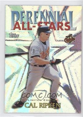 2000 Topps Perennial All-Stars Limited Edition #PA4 - Cal Ripken Jr.