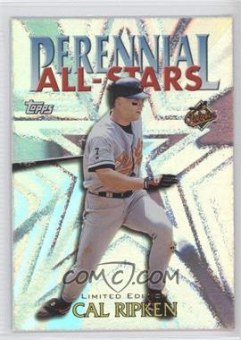 2000 Topps Perennial All-Stars Limited Edition #PA4 - Cal Ripken Jr.