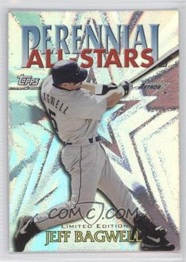 2000 Topps Perennial All-Stars Limited Edition #PA7 - Jeff Bagwell