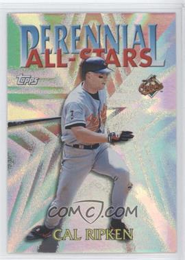 2000 Topps Perennial All-Stars #PA4 - Cal Ripken Jr.