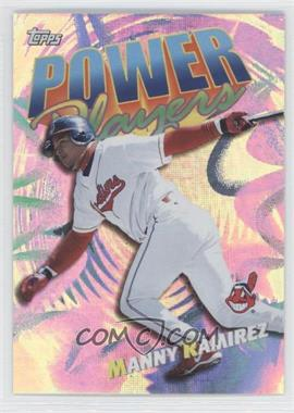 2000 Topps Power Players #P11 - Manny Ramirez