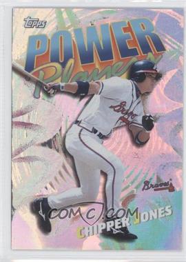 2000 Topps Power Players #P15 - Chipper Jones