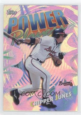 2000 Topps Power Players #P15 - Chipper Jones