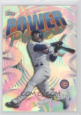 2000 Topps Power Players #P16 - Sammy Sosa