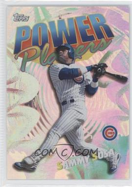 2000 Topps Power Players #P16 - Sammy Sosa