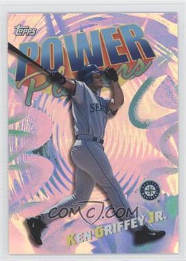 2000 Topps Power Players #P2 - Ken Griffey Jr.
