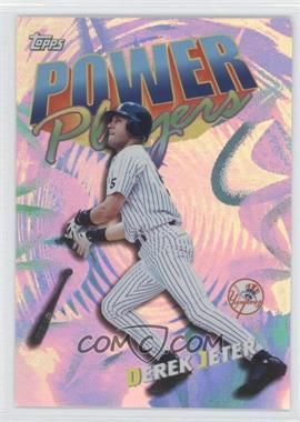 2000 Topps Power Players #P20 - Derek Jeter