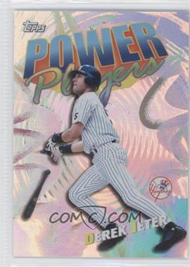 2000 Topps Power Players #P20 - Derek Jeter