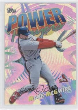 2000 Topps Power Players #P3 - Mark McGwire