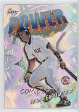2000 Topps Power Players #P4 - Nomar Garciaparra