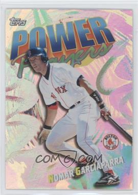 2000 Topps Power Players #P4 - Nomar Garciaparra