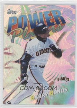 2000 Topps Power Players #P5 - Barry Bonds