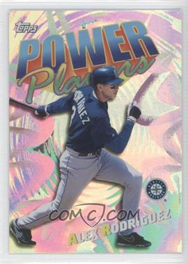 2000 Topps Power Players #P8 - Alex Rodriguez