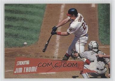 2000 Topps Stadium Club First Day Issue #123 - Jim Thome /150
