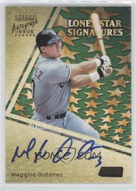 2000 Topps Stadium Club Lone Star Signatures #LS13 - Magglio Ordonez