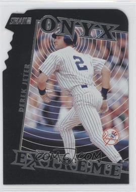 2000 Topps Stadium Club Onyx Extreme Die-Cut #OE2 - Derek Jeter