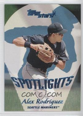2000 Topps Stars - [Base] - Metallic Blue #168 - Alex Rodriguez /99