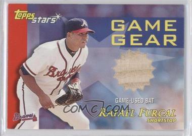 2000 Topps Stars - Game Gear Bats #GGB1 - Rafael Furcal