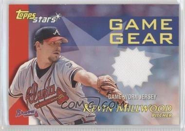 2000 Topps Stars Game Gear Jerseys #GGJ1 - Kevin Millwood