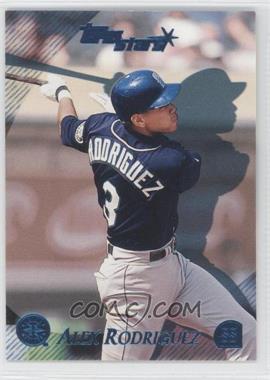 2000 Topps Stars Metallic Blue #57 - Alex Rodriguez /299