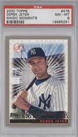 Derek Jeter Wins 1996 World Series [PSA8]