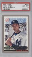 Derek Jeter (Wins 1996 World Series) [PSA8]