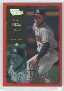 2000 Ultimate Victory Ultimate Collection #50 - Rafael Furcal /100