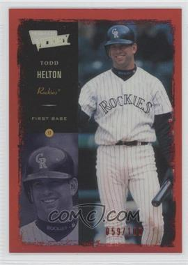 2000 Ultimate Victory Ultimate Collection #89 - Todd Helton /100