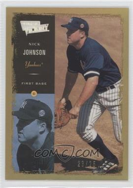 2000 Ultimate Victory Ultimate Victory Collection #42 - Nick Johnson /25