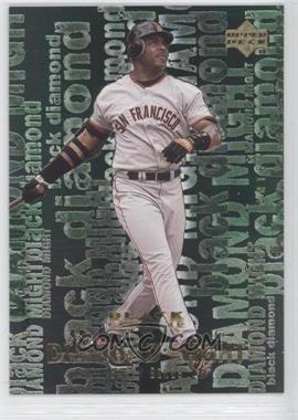 2000 Upper Deck Black Diamond Rookie Edition Diamond Might #M9 - Barry Bonds