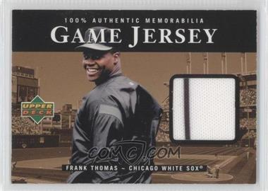 2000 Upper Deck Game Jersey #C-N/A - Frank Thomas