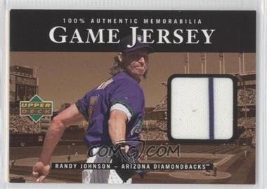 2000 Upper Deck Game Jersey #C-RJ - Randy Johnson